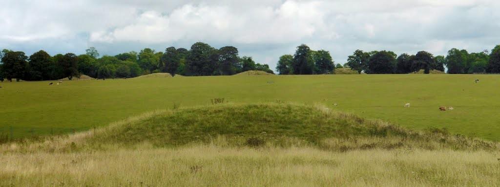 Stonehenge burial mounds