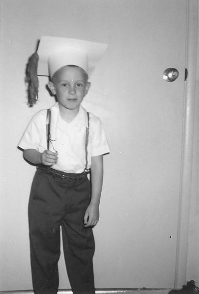 1961: Kindergarten Graduate