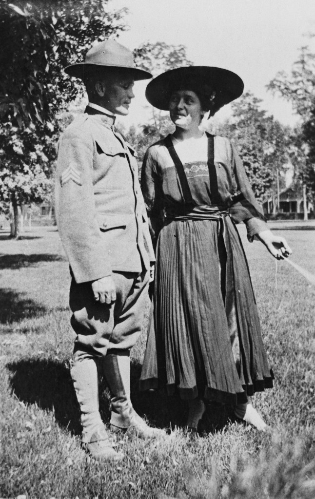 Cloyd and Florence Woolley