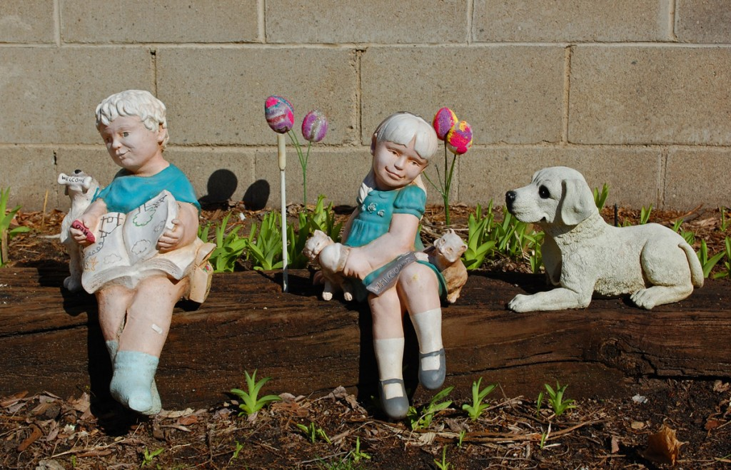Spring Garden Figures Just Think of It