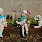 Spring Garden Figures