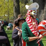 Painted Faces - May Day 2016