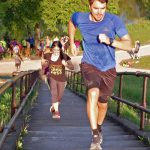 Relay Race in Powderhorn Park