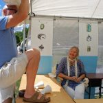 Art Fair Setup: Bill & Lisa Bailey