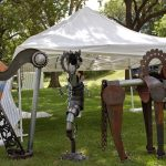 Art Fair Setup: Crysten Nesseth