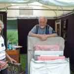 Art Fair Setup: Jo & Willy Nelson