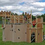 Cardboard Castle 1