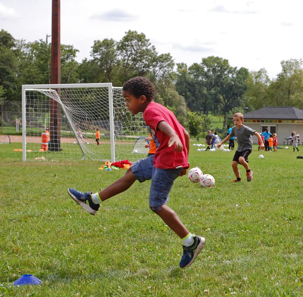 Soccer Clinic 4: High Kick