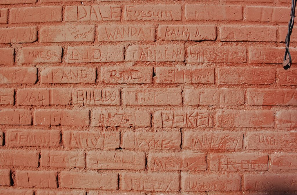 Wall of Names