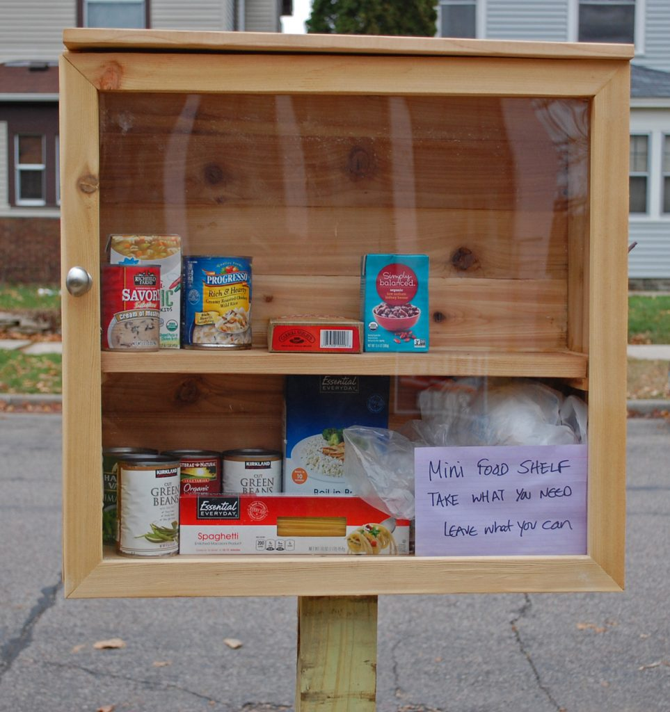 Mini Food Shelf